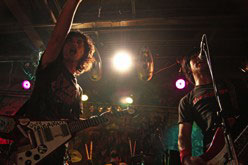 ELECTRIC EEL SHOCK live at Fandango 100910
